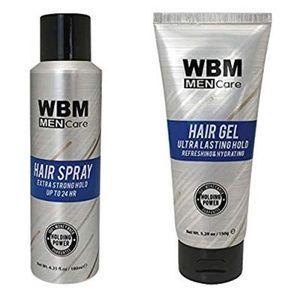 NWT - Men's Hair Spritz & Hair Gel Combo Pack!